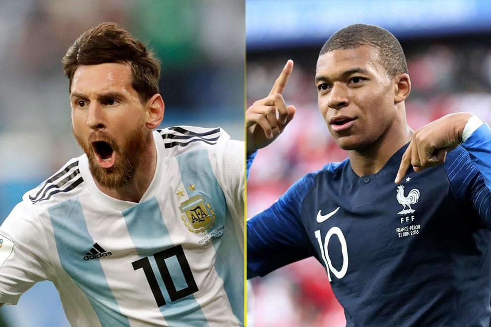 Who will advance to the World Cup quarterfinal: Argentina or France?
