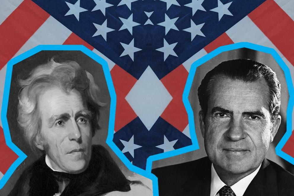 Most influential president: Andrew Jackson or Richard Nixon?