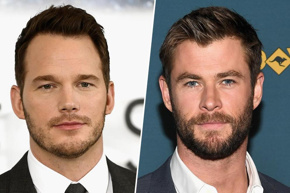 Which leading man is your favorite: Chris Pratt or Chris Hemsworth?