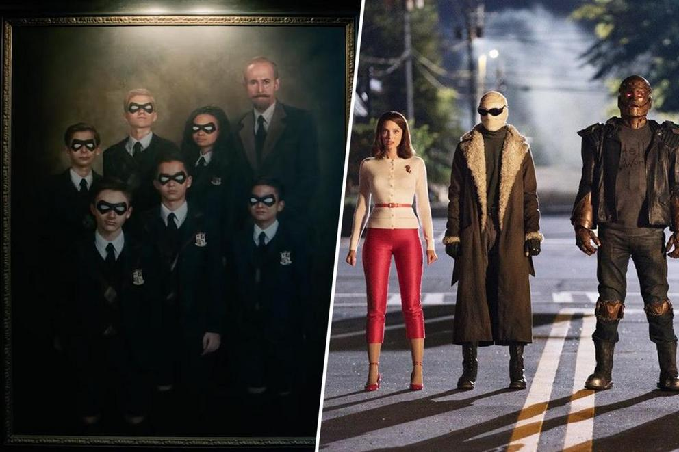 Favorite new superhero team show: 'The Umbrella Academy' or 'Doom Patrol'?