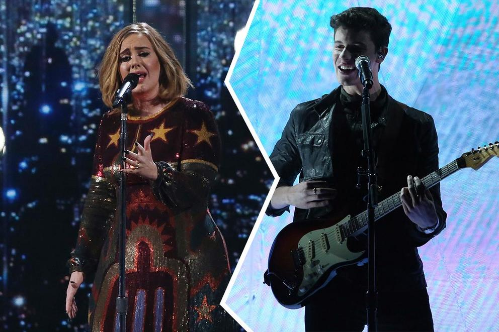 Adult contemporary album of the year: '25' or 'Illuminate'?