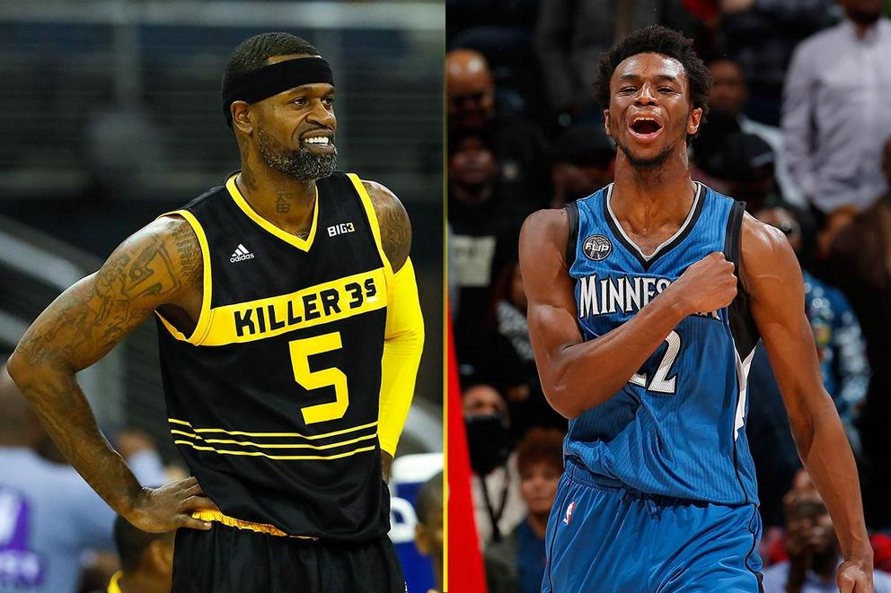 Who would win a fight: Stephen Jackson or Andrew Wiggins?