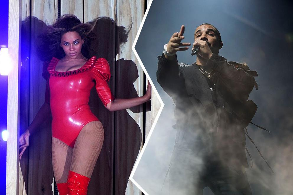 Music entertainer of 2016: Beyoncé or Drake?
