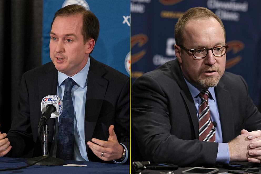 Who should be the Philadelphia 76ers' new GM: Sam Hinkie or David Griffin?
