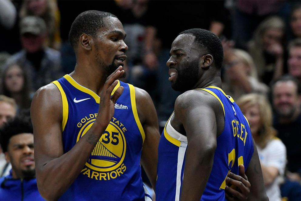 Who do the Warriors need more: Draymond Green or Kevin Durant?