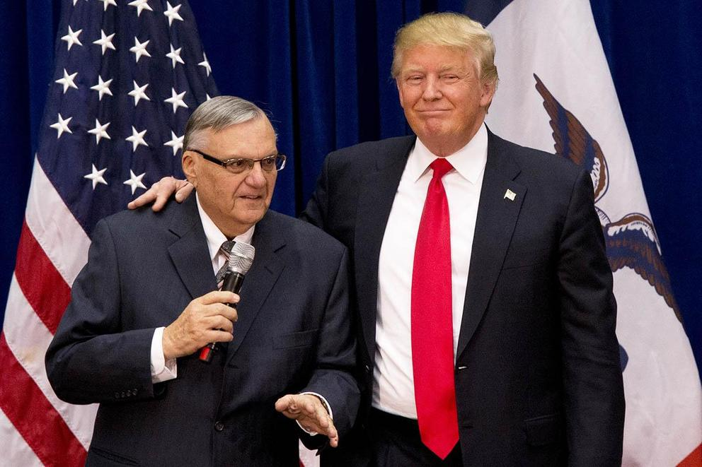 Should Donald Trump pardon Sheriff Joe Arpaio?