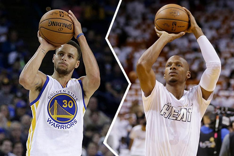 Who's the best NBA shooter: Ray Allen or Steph Curry?