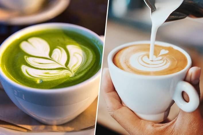 Which is your favorite source of caffeine: matcha or coffee?