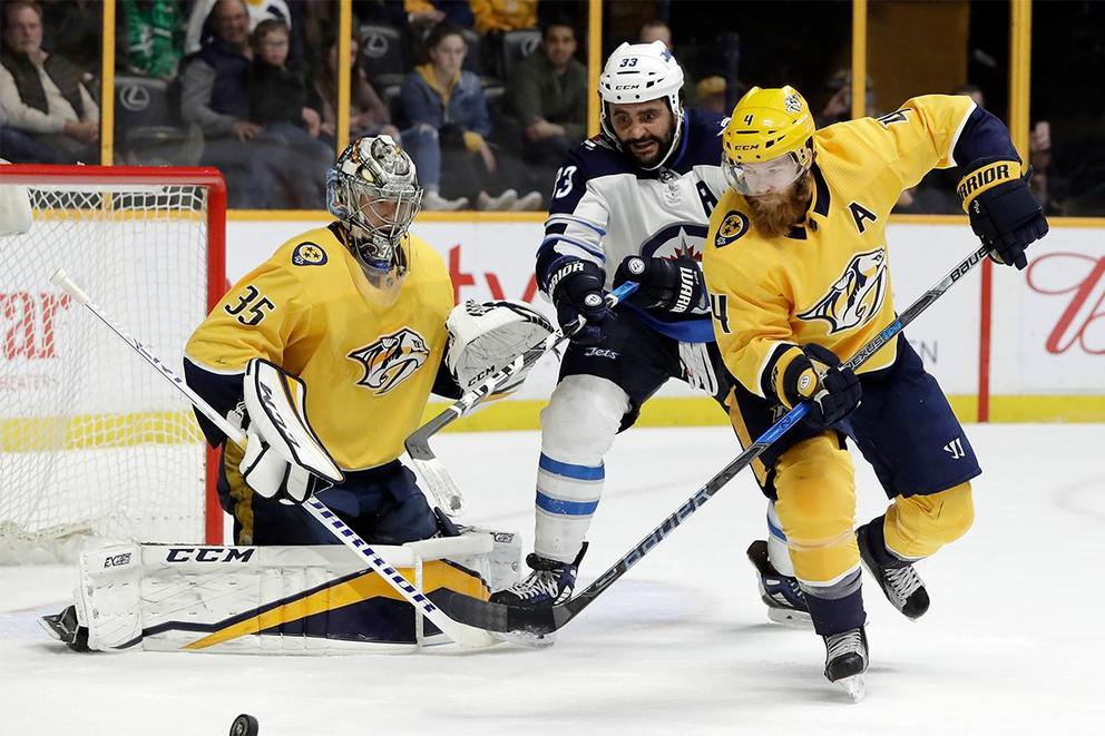 Who survives the second round of the NHL playoffs: Predators or Jets?