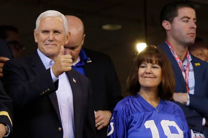 Was Mike Pence right to walk out of an NFL game during the national anthem?