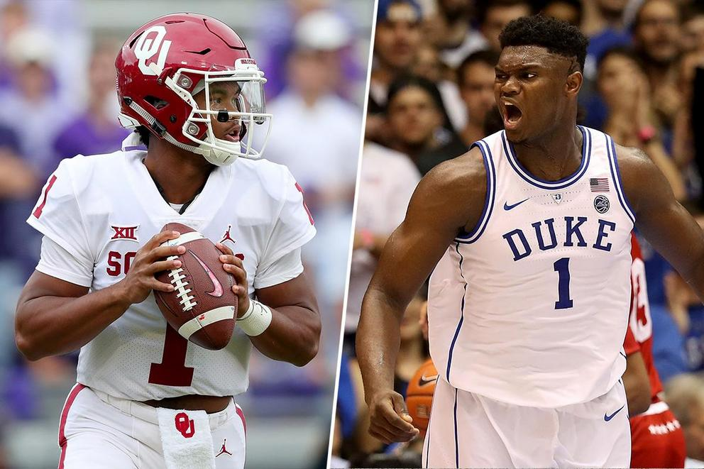 Who is the better athlete: Kyler Murray or Zion Williamson?