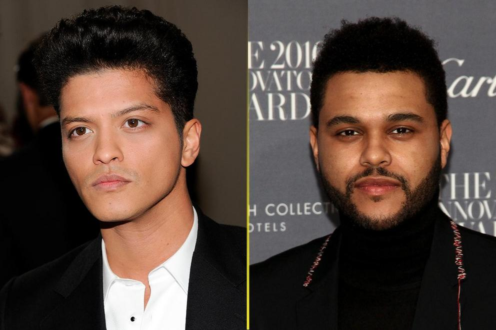 Choice Male Artist: Bruno Mars or the Weeknd?