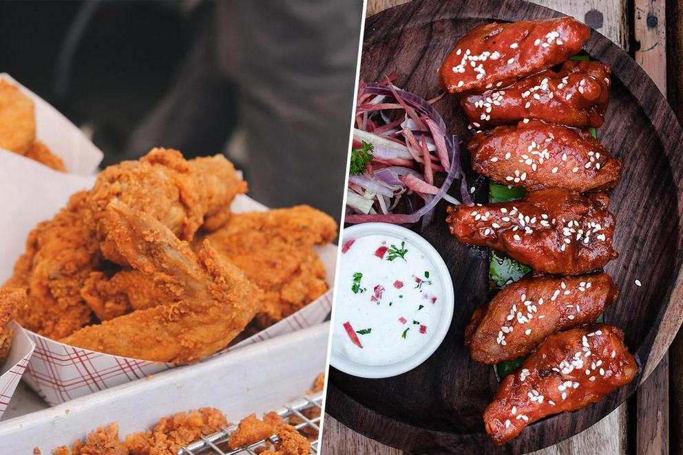 Dry vs. wet wings: Which is better?