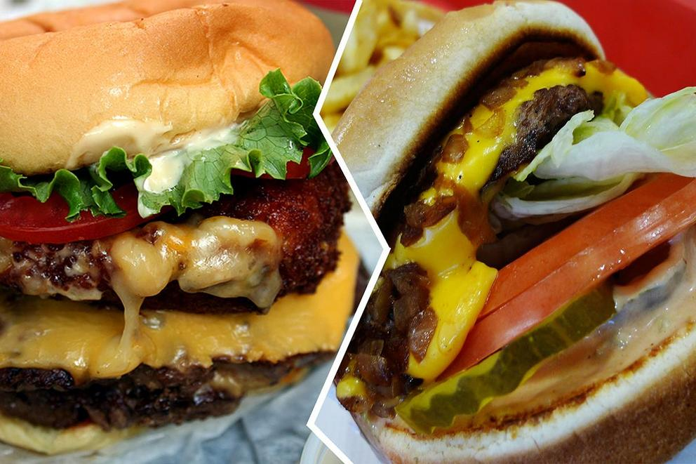 Which is the better burger, In-N-Out or Shake Shack?