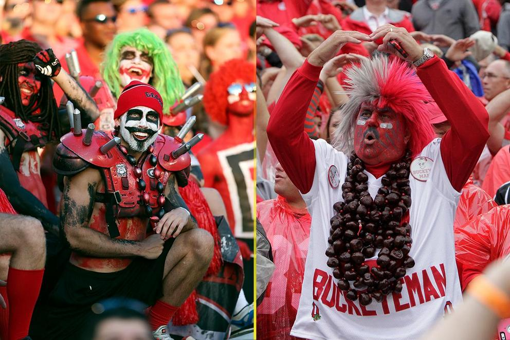 NCAA's Best College Fan Base: Georgia or Ohio State?