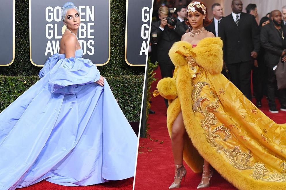 Who slays the red carpet best: Lady Gaga or Rihanna?