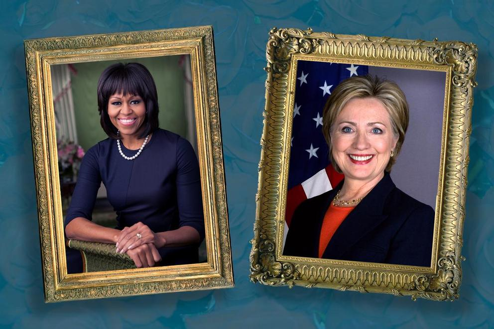 Who is your favorite First Lady: Michelle Obama or Hillary Clinton?