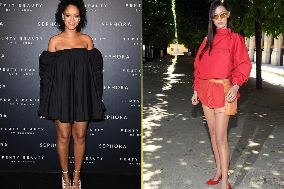 Who's your style icon: Rihanna or Bella Hadid?