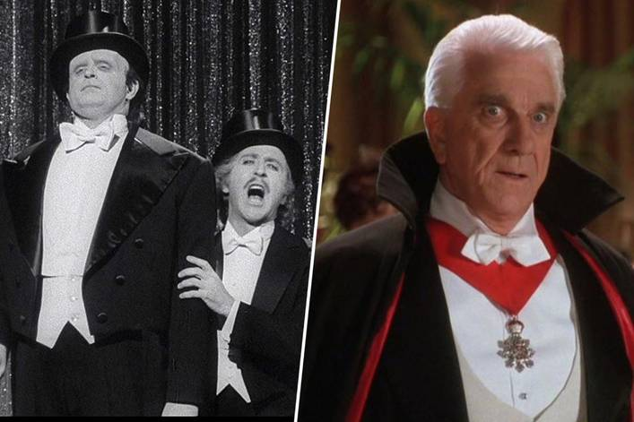 Funniest horror movie spoof: 'Young Frankenstein' or 'Dracula: Dead and Loving It'?