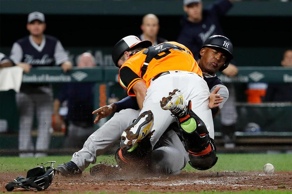 Should baseball bring back home plate collisions?