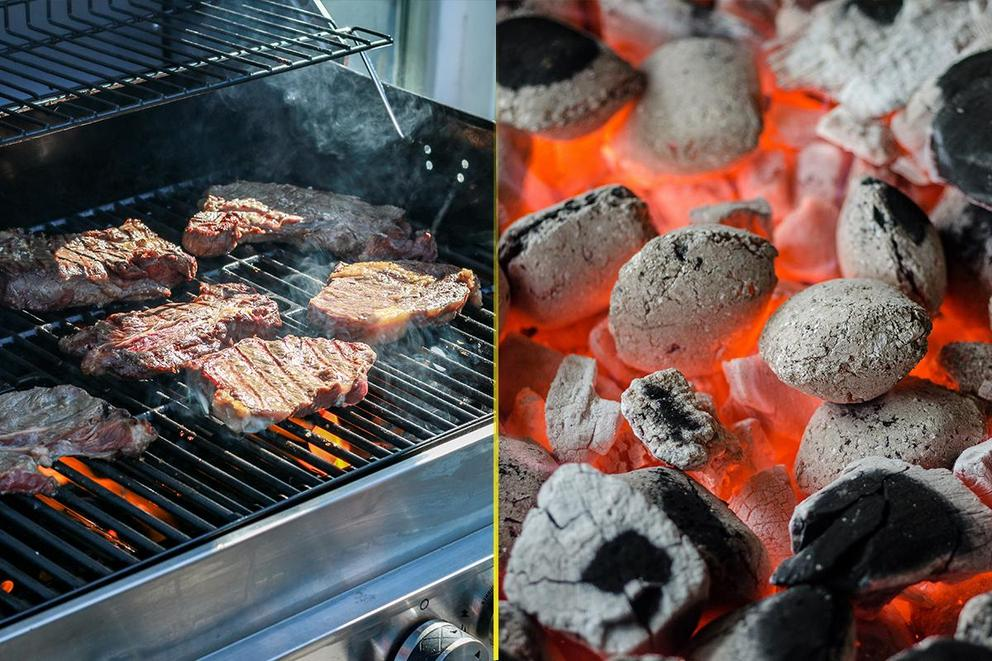 Are gas grills better than charcoal?