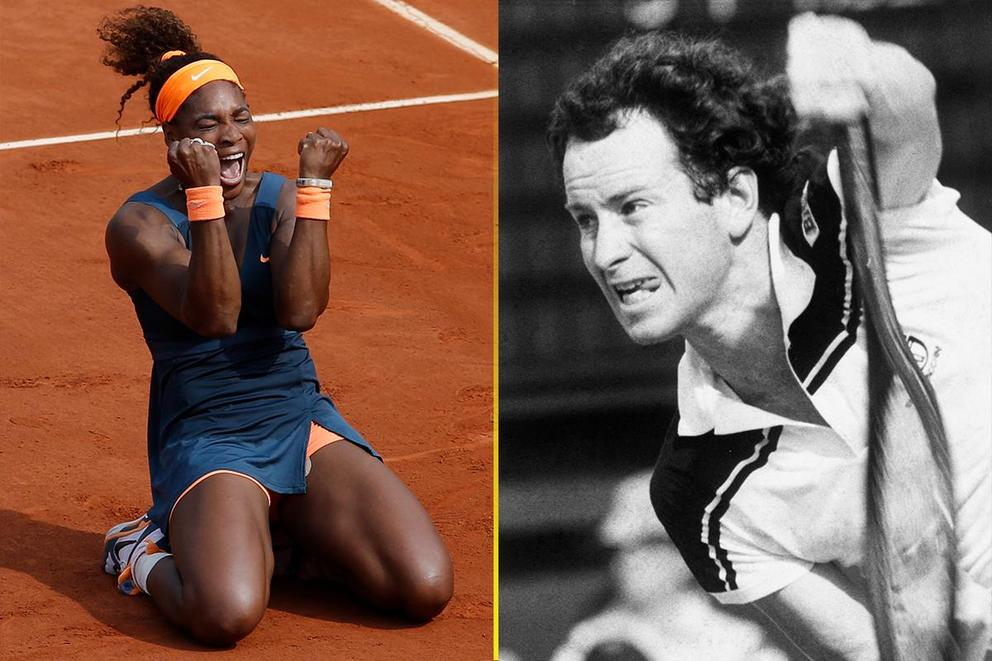 Who would win a match in their prime: Serena Williams or John McEnroe?