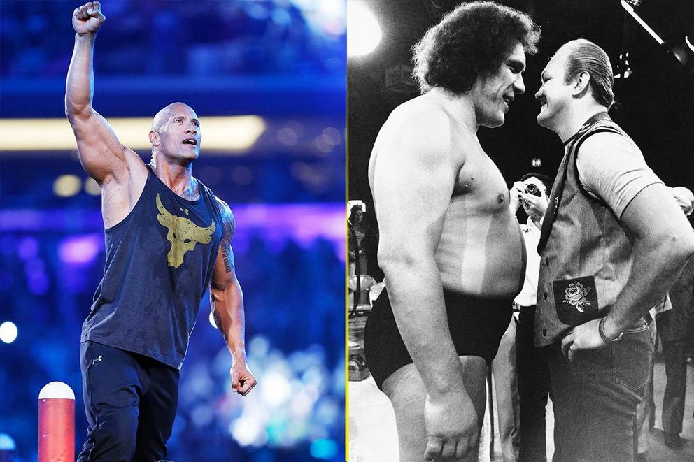 Greatest wrestler of all time: The Rock or Andre the Giant?