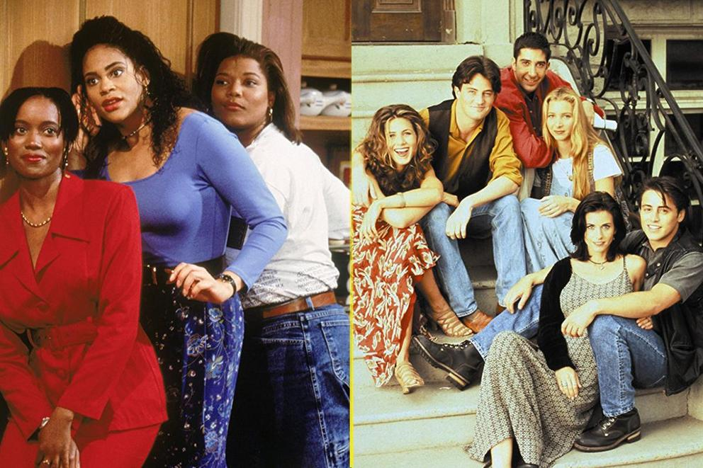 Best sitcom only '90s kids would remember: 'Living Single' or 'Friends'?