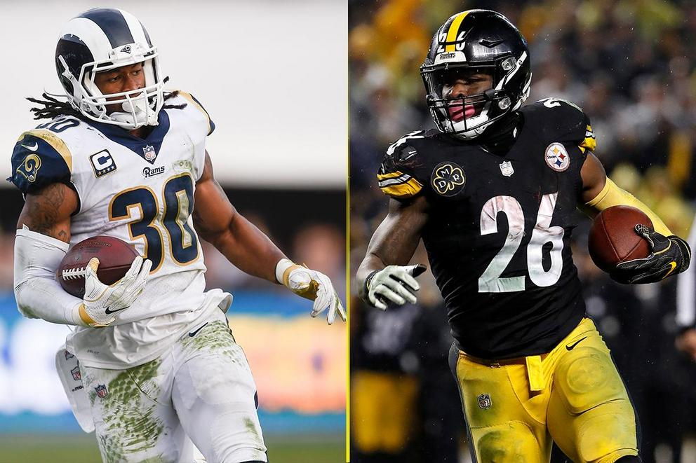 Who's the best running back in the NFL: Todd Gurley or Le'Veon Bell?