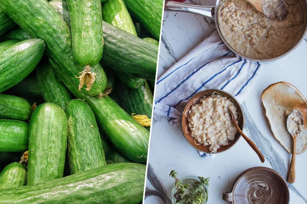 Which are more disgusting: green foods or colorless foods?