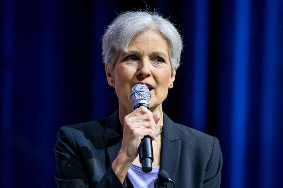 Jill Stein is polling close to Harambe and 'Deez Nutz.' Maybe it's time for her to drop out?