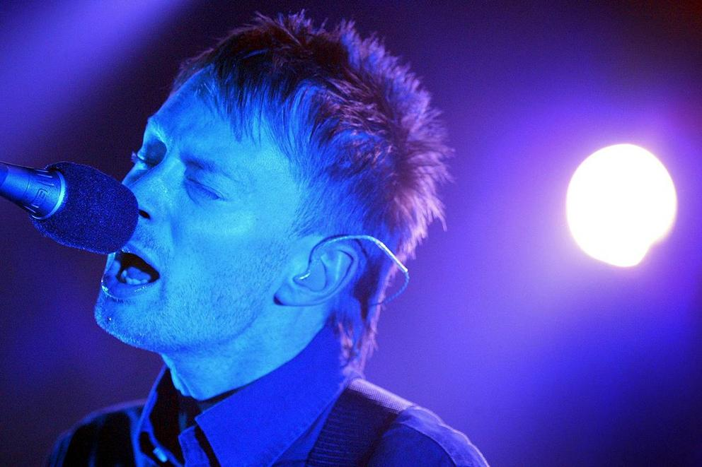 """British band Radiohead """"disappears completely"""" from the Internet"""