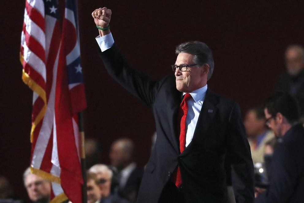 Former Texas Gov. Rick Perry is going to be on 'Dancing with the Stars'