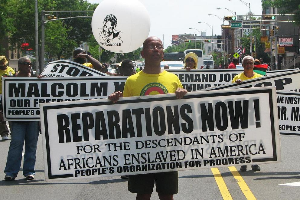 Should the U.S. government pay reparations for slavery?