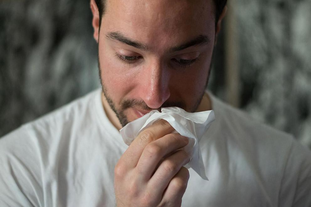 Is it rude to blow your nose loudly in public?
