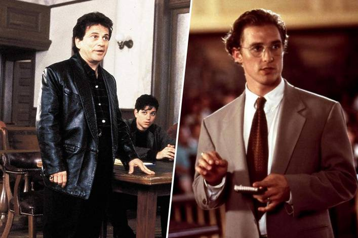Who defends you in court: Joe Pesci or Matthew McConaughey?