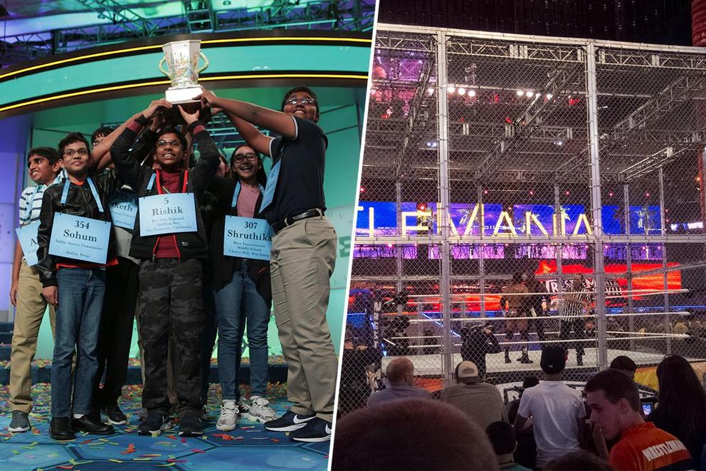 Should Hell in a Cell determine the real winner of the spelling bee?