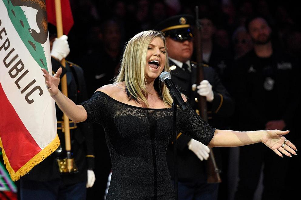 Was Fergie's national anthem performance really that bad?