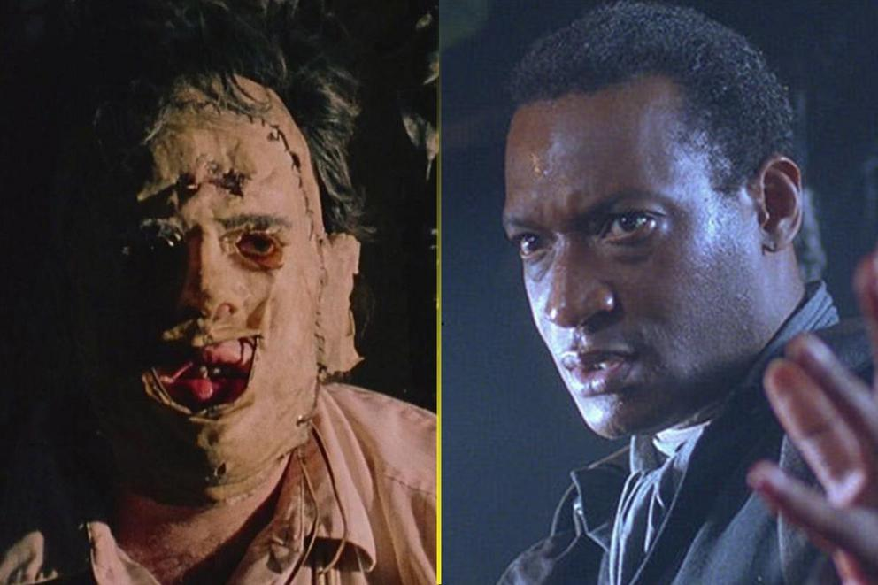 Scariest movie monster: Leatherface or Candyman?