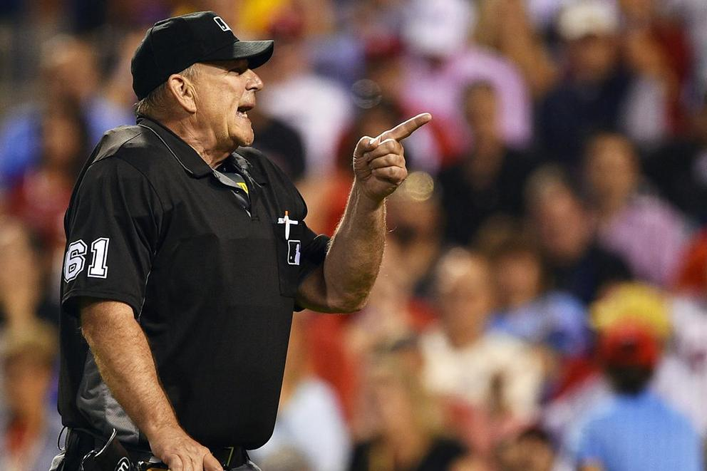 Umpire Bob Davidson threw a heckler out of a Phillies game. Did he do the right thing?