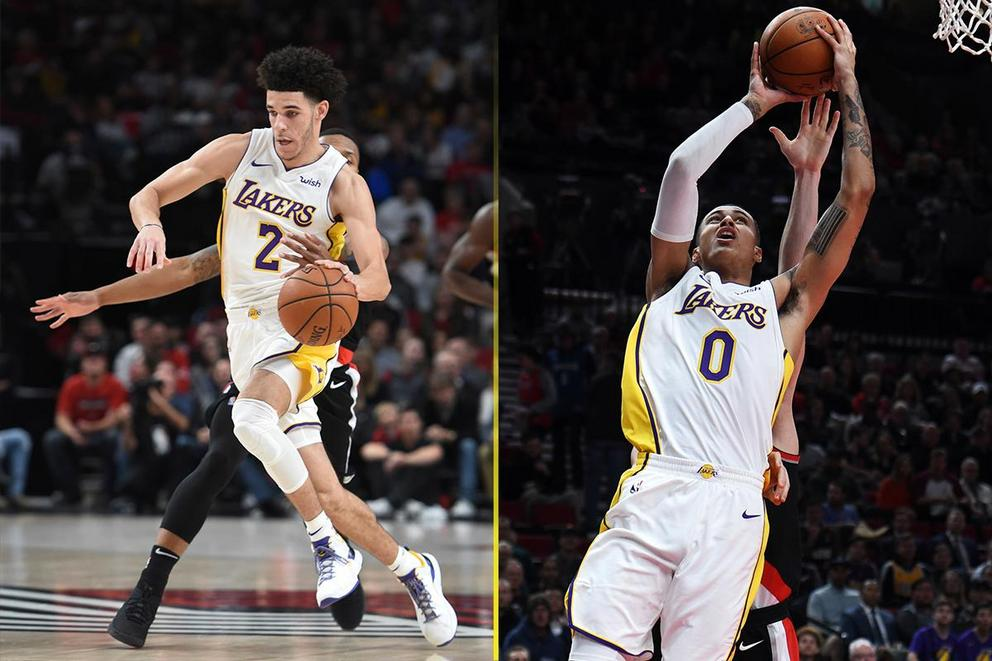 Who is the Lakers' most valuable young player: Lonzo Ball or Kyle Kuzma?
