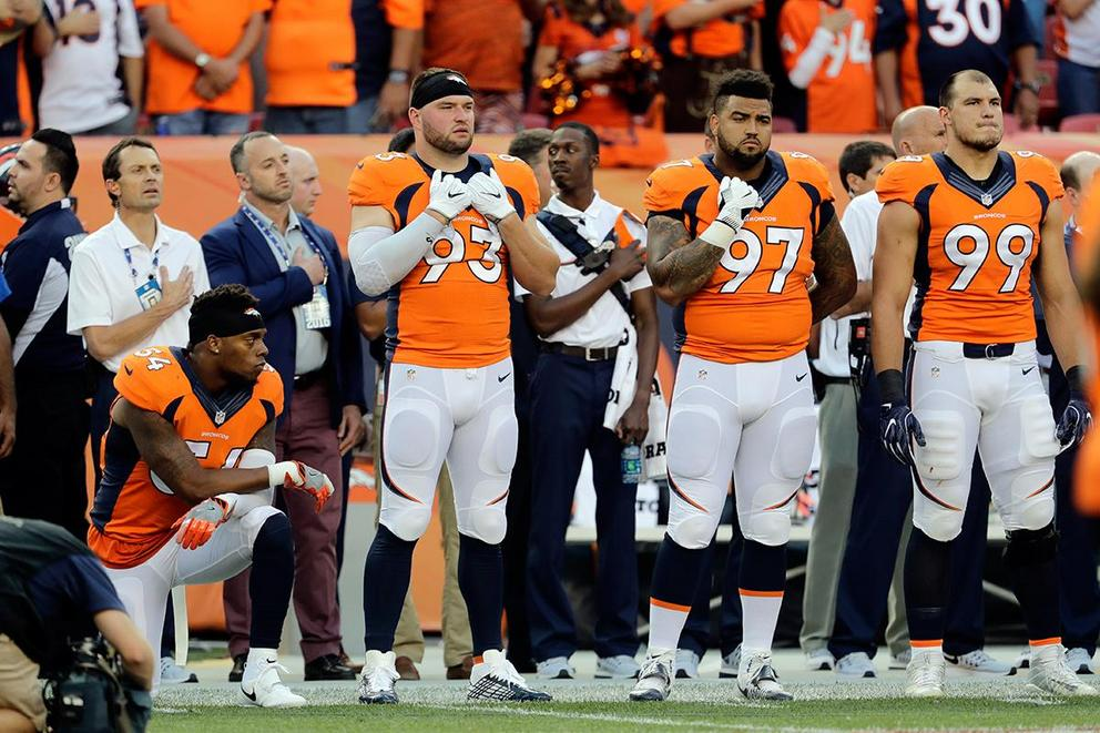 Is it unpatriotic to boycott athletes who are peacefully protesting?