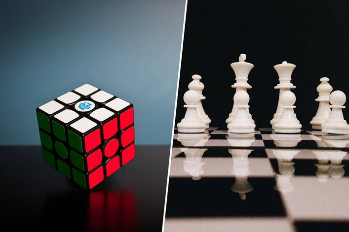 Which would you rather do: solve a Rubik's Cube or win a chess match?