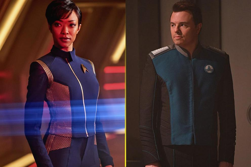 Favorite new space show: 'Star Trek: Discovery' or 'The Orville'?