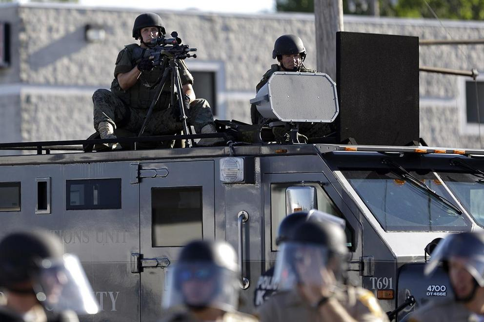 Do local police departments need military gear?