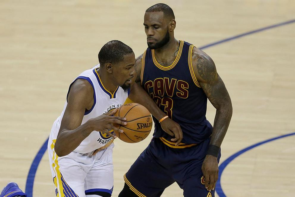 Has Kevin Durant surpassed LeBron James as the best player in the NBA?