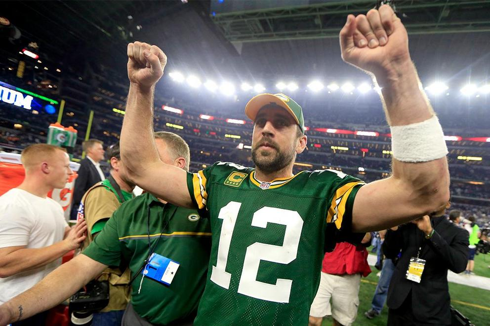 Will Aaron Rodgers be on the Green Bay Packers when he's 40?