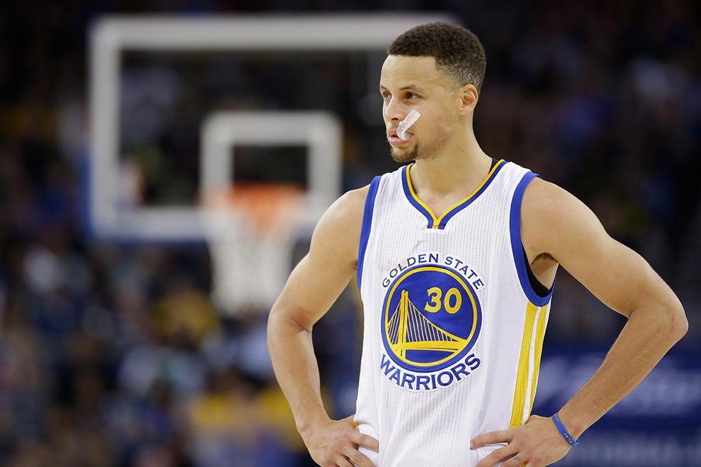 Would you buy Steph Curry's mouthguard?