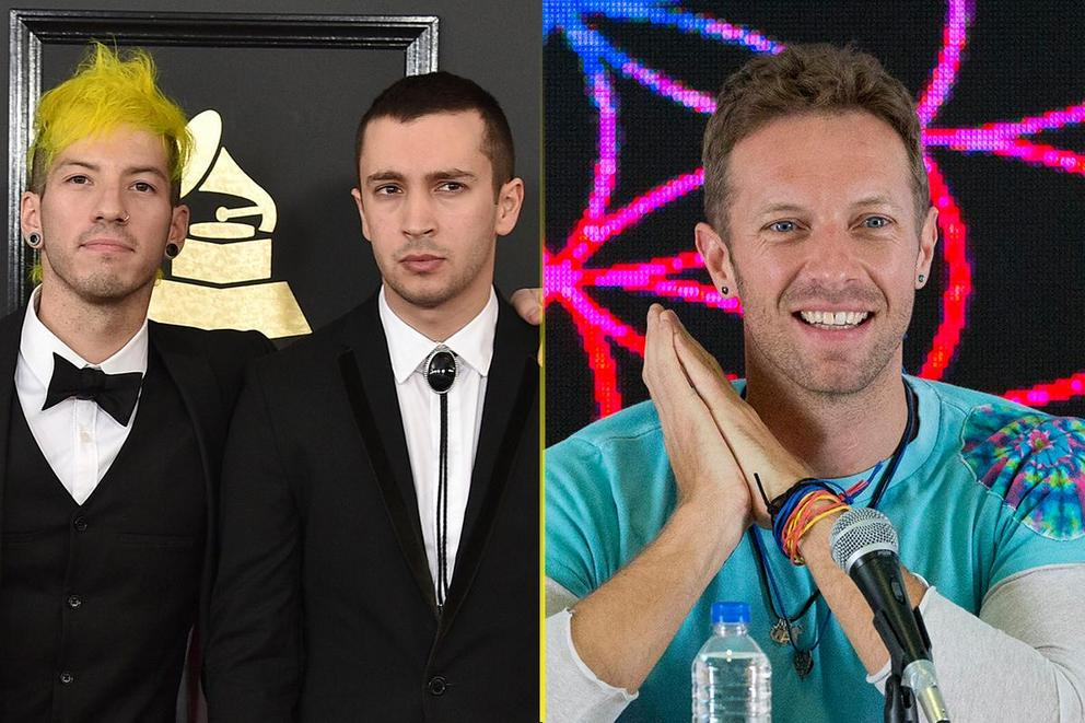 iHeartRadio Best Duo/Group of the Year: Twenty One Pilots or Coldplay?