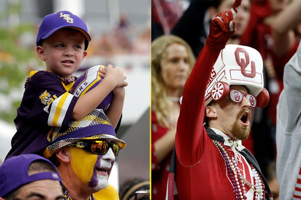 NCAA's Best College Fan Base: LSU or Oklahoma?